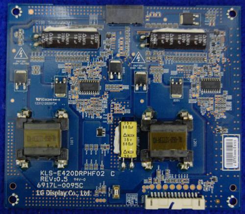 Inverter Board 6917L-0095C KLS-E420DRPHF02 C от телевизора LG 42LM340T-ZA