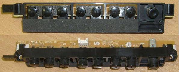 Key Controller Board EAX59905501 (плата с кнопками) от телевизора LG 42PQ200R-ZA