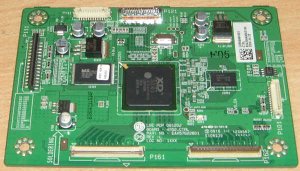 Main Logic CTRL Board EAX57622801 от телевизора LG 42PQ200R-ZA