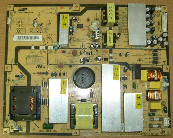 Power Supply Board IP-280135A от телевизора  Samsung LE40M71B