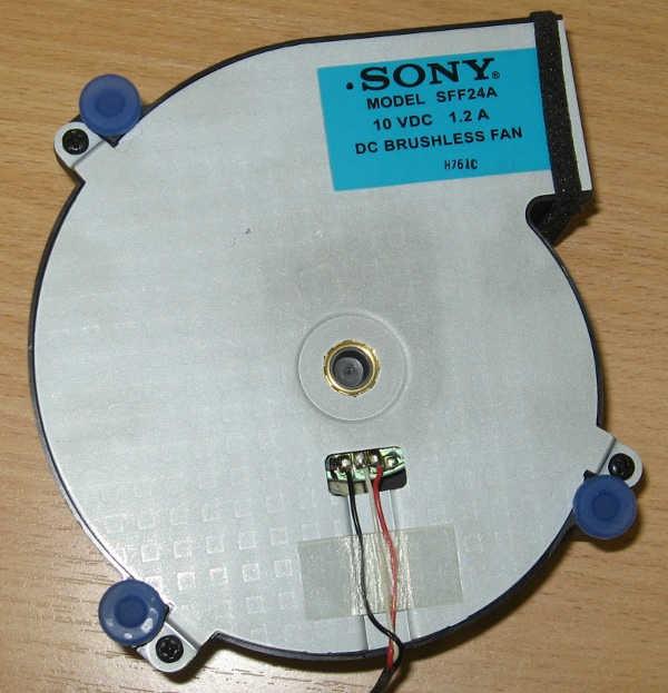 Motor DC Brushless Fan SFF24A (вентилятор) от телевизора Sony KDS-55A2000