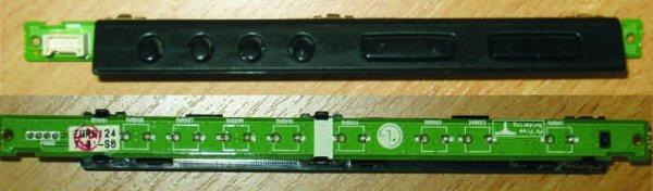Side Buttons EAX56608701 (2) (Панель управления с кнопками) от телевизора LG 32LH2000