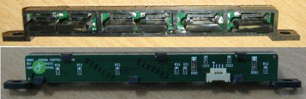 Side Buttons BN41-00709A (плата управления с кнопками) от телевизора Samsung LE26S81B, LE27S71BS/KLG