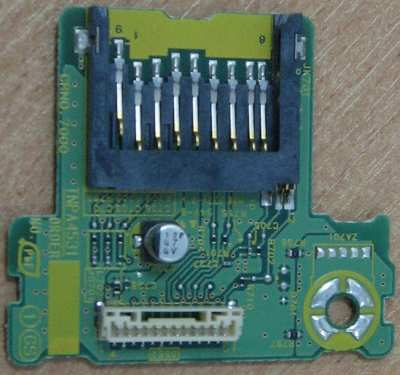 SD Card Reader Board TNPA4531 от телевизора Panasonic TH-R42EL8KA