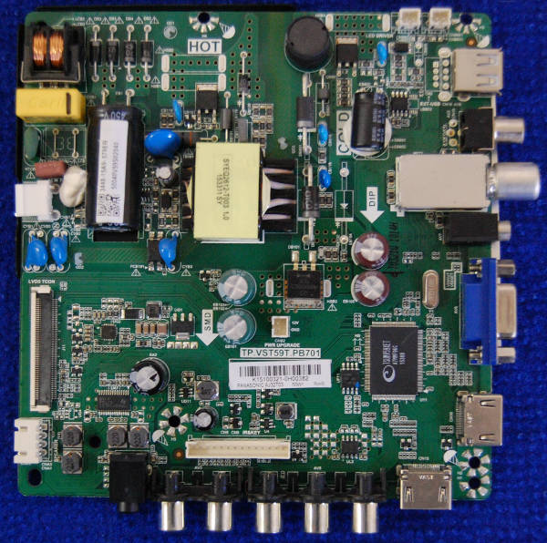 Main Board TP.VST59T.PB701 от телевизора Supra STV-LC32450WL V1P12