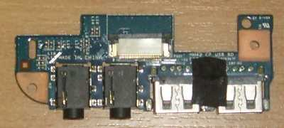 Audio+USB Board HM42_CP от ноутбука Emachines D640G